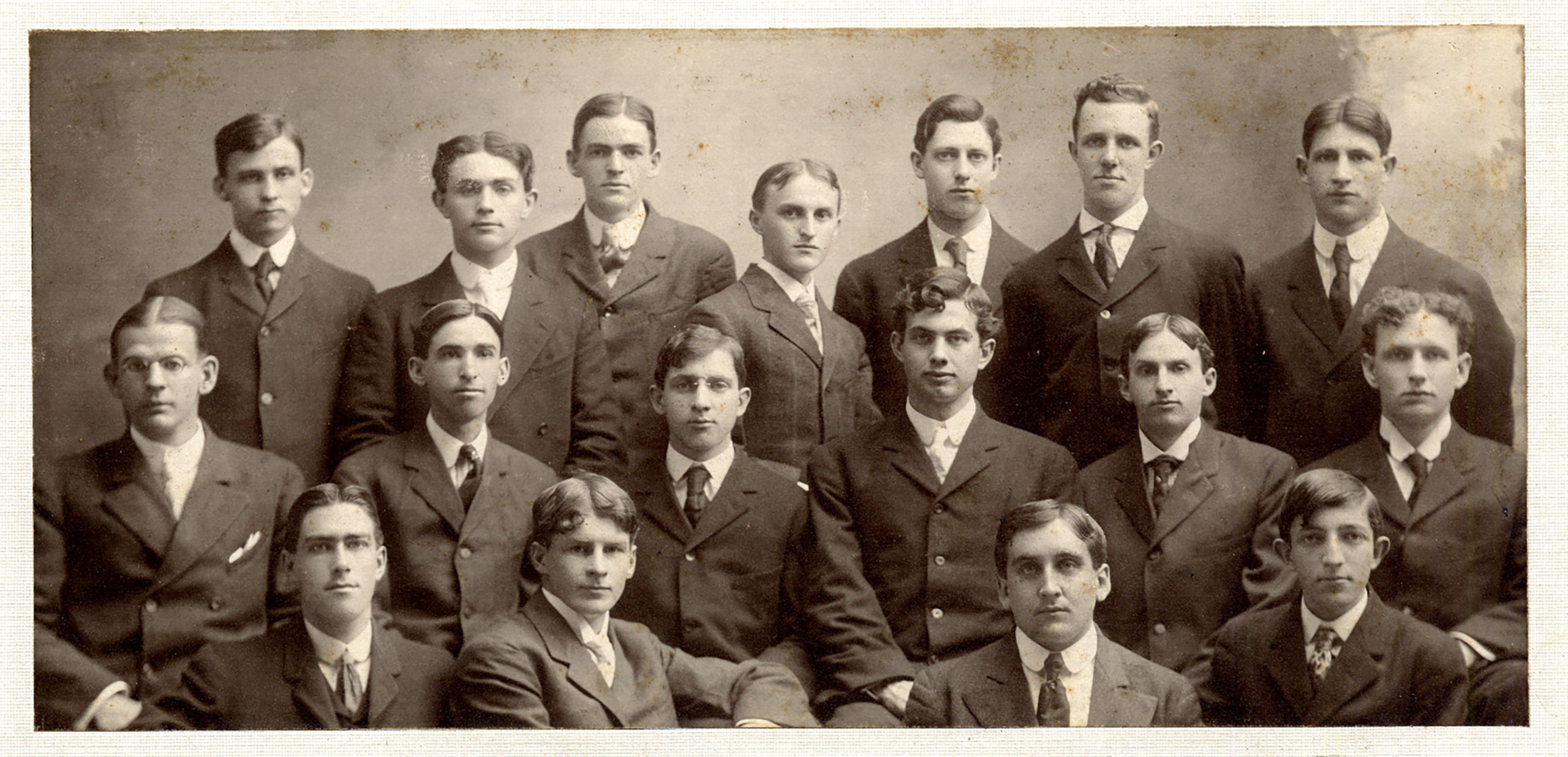 Kappa Delta Rho group photo of founders